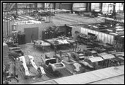 The first Clenet factory was in an aircraft hangar at the Santa Barbara Airport in Goleta, California.