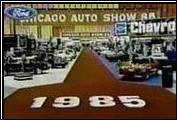 Clenet was well represented at the 1985 Chicago Auto Show.