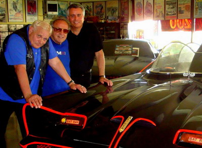 Bo Hopkins, George Barris, and Alfred DiMora