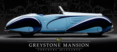 Greystone Mansion Concours d'Elegance